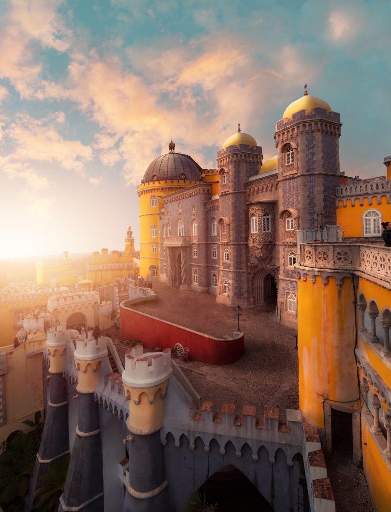 Palacio-da-Pena---Sintra,-Portogallo